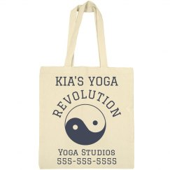 Custom Yoga Studio Tote