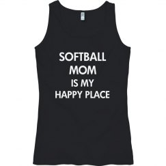 Softball mom is my happy place