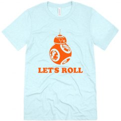 BB-8 Droid Let's Roll Tee