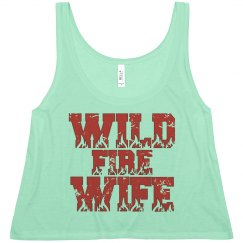 Wild Fire Wife Crop Top