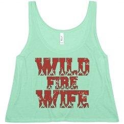 Wild Fire Wife Crop Top
