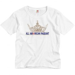 All American Pageants Youth Shirt