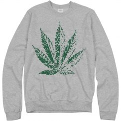 Vintage Weed Leaf