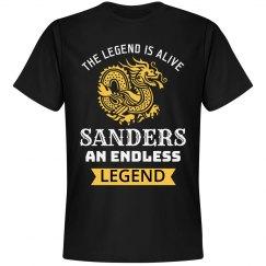 Sanders an endless legend