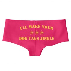 Military Dog Tags Jingle