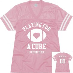 Playing for a Cure Custom Jersey
