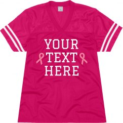 Custom Breast Cancer Jersey