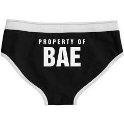 Property Of Bae V-Day Panties