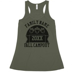 Custom Family Fall Campout