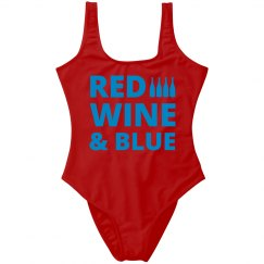 Red Wine & Blue 4th Of July
