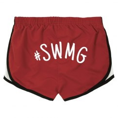 SWMG Hashtag Booty Shorts (backside writing)