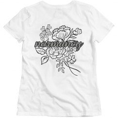 normancy t-shirt (back)