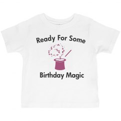 Ready for birthday magic