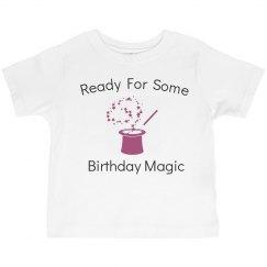 Ready for birthday magic