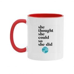 She thought she could mug