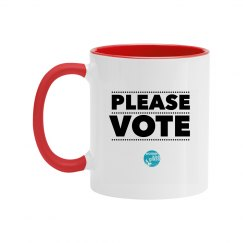 Please vote mug