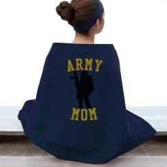 Army Mom Blanket