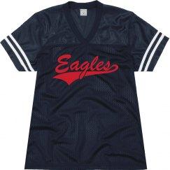 Allen eagles shirt.