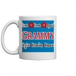 Personalized Grammy Coffee Mug