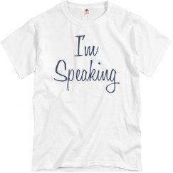 Mrs. Vice President I'm Speaking
