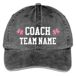 Custom Text Cheer Coach