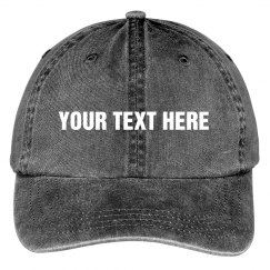 Custom Design This Canvas Hat