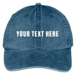 Custom Design This Canvas Hat