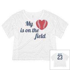 My heart is on the field