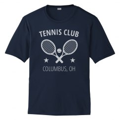 Custom Tennis Club or League Performance