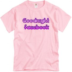 goodnight fb - tshirt
