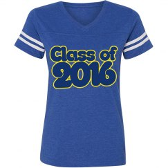 Class of 2016 blue and gold