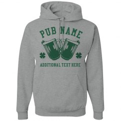 Irish Pub Custom Hoodies St Pats