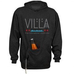 Villa Chicago Skyline Tailgate Hoodie Blk