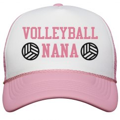 Volleyball Nana Hat