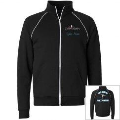 SBDA warm up jacket - unisex BLUE lettering