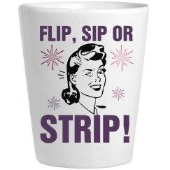 Flip Sip Strip Shot