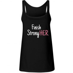 FINISH STRONGER Tank