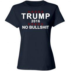 Trump No Bullshit