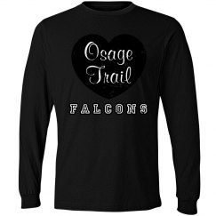OTMS Heart Red LS shirt