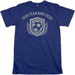 Custom Team Name, Soccer T-Shirt