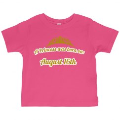 Jai'ana's princess shirt