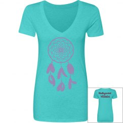 Undiagnosed Warrior T-Shirt Tahiti Blue