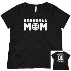 Customizable Baseball Mom