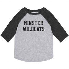 toddler baseball minster wildcats