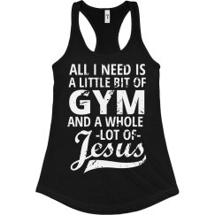Gym & Jesus Workout Tank