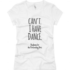 Ladies Can't I Have Dance T APA