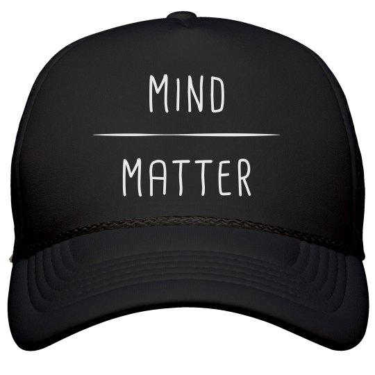 5b36cdbb0 Mind Over Matter Runners Hat