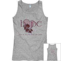 Breast cancer hope Tee
