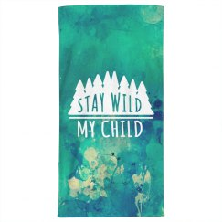 Abstract Stay Wild My Child