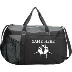 Custom Name Dancer Duffel